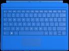 Microsoft Surface 3 Type Cover, bleu