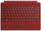 Microsoft Surface 3 Type Cover, rouge