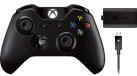Microsoft Xbox One Wireless Controller with Play and Charge Kit, 3.5 mm Jack