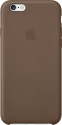 Apple iPhone 6 Plus / 6s Plus Leder Case - Olive