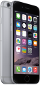 Apple iPhone 6  - iOS Smartphone - 16 GB - Spacegrau