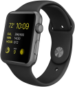 Apple Watch Sport 38mm, schwarz