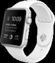 Apple Watch 38mm mit Sportarmband, weiss