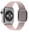 Apple 38mm Modern Buckle, M, soft pink