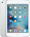 Apple iPad mini 4, 128 GB, Wi-Fi + Cellular, silber