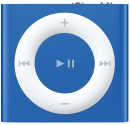 Apple iPod Shuffle 6G, 2GB, blau
