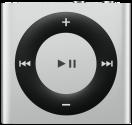 Apple iPod Shuffle 6G, 2GB, silber