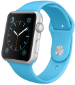 Apple Watch Sport 42mm, blau