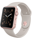 Apple Watch Sport 42mm, stein