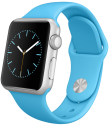 Apple Watch Sport 38mm, blau