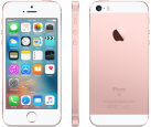 Apple iPhone SE, 16Go, or rose