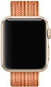 Apple MM9L2ZM/A AW/38 Watch Armband Nylon gold / rot