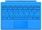 Microsoft Surface Pro 4 Type Cover, blu vivace
