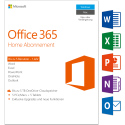 Microsoft Office 365 Home, PC/MAC, 5 User [Version allemande]