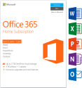 Microsoft Office 365 Home, PC/MAC, 5 User, englisch