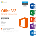 Microsoft Office 365 Personal, PC/MAC , 1 User [Version allemande]