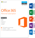Microsoft Office 365 Personal, PC/MAC , 1 User, englisch [Englische Version]