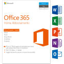 Microsoft Office 365 Home, PC/MAC, 5 User [Version italienne]