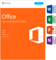 Microsoft Office Home & Student 2016, PC, 1 User, englisch