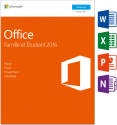 Microsoft Office Home & Student 2016, PC, 1 User [Französische Version]