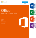 Microsoft Office Home & Student 2016, PC, 1 User [Version allemande]