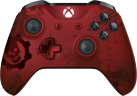 Microsoft Xbox One Wireless Controller - Gears of War 4 - rosso