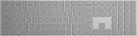 Microsoft Surface WS2-00008 - Tastatur - Bluetooth-Schnittstelle - Grau