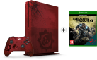Microsoft Xbox One S - Gears of War 4 Limited Edition - 2TB - Rot
