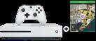 Microsoft Xbox One S + Fifa 17 (DLC) - 1To - blanc