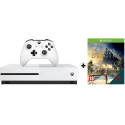 Microsoft Xbox One S - Console - 500 GB - Bianco + Assasins Creed DLC