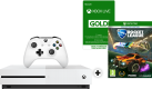 Microsoft Xbox One S - Console - 500 GB - + Rocket League e + 3 mesi Xbox Live - Bianco
