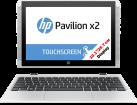 HP Pavilion x2 - 10-n110nz - Convertible - eMMC Festplatte - Weiss