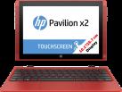 HP Pavilion x2 - 10-n120nz, rot