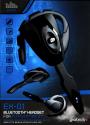 GIOTECK EX1PS3-11-MU - Oreillette Bluetooth Mono - Noir