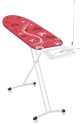 LEIFHEIT Airboard Express M Compact - Bügeltisch - Aus Streckmetall - Rot