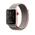 Apple Watch Series 3 - Aluminiumgehäuse, Gold, mit Sport Loop - GPS + Cellular - 38 mm - Sandrosa