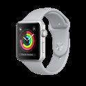 Apple Watch Series 3 - Boîtier en aluminium argent avec Bracelet Sport - GPS – 38 mm - Nuage