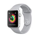 Apple Watch Series 3 - Aluminiumgehäuse, Silber, mit Sportarmband - GPS – 38 mm - Nebel
