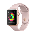 Apple Watch Series 3 - Cassa in alluminio color oro con cinturino Sport  - GPS - 42 mm - Rosa sabbia