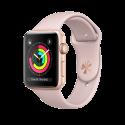 Apple Watch Series 3 - Aluminiumgehäuse, Gold, mit Sportarmband - GPS - 42 mm - Sandrosa
