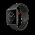 Apple Watch Edition Series 3 - Keramikgehäuse, Grau, mit Sportarmband - 42 mm - GPS + Cellular - Grau/Schwarz