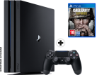 Sony PS4 Pro + Call of Duty WWII - Console - 1 TB - Nero
