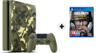 Sony PS4 Slim + Call of Duty WWII (Französisch) - Spielkonsole - 1 TB HDD - Camo