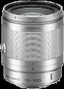 Nikon 1 NIKKOR VR 10 - 100 mm f/4.0-5.6, silber