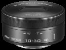 Nikon 1 NIKKOR VR 10 - 30 mm f/3.5-5.6 PD-ZOOM, nero