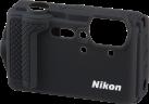 Nikon Protection en silicone - Pour Nikon COOLPIX W300 - Noir