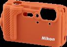Nikon Custodia protettiva in silicone - Per Nikon COOLPIX W300 - Arancione