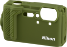 Nikon Custodia protettiva in silicone - Per Nikon COOLPIX W300 - Verde