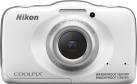 Nikon Coolpix S32, 13.2 MP, Blanc