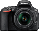 Nikon D5500, 18-55 mm VRII Kit, 24.2 MP, schwarz